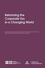 Reforming the Corporate Tax in a Changing World